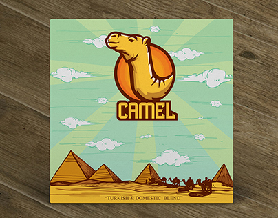 Camel Logo and Packaging