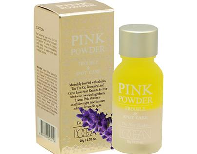 Tinh dầu L'ocean Pink Powder xóa mụn và vết thâm