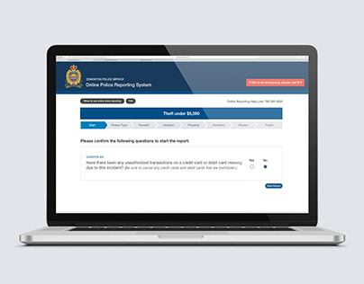 Online Forms - EPS Theft Report