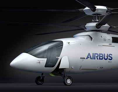 Airbus HX280 helicopter concept / exterior design