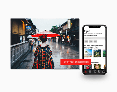 E.Pic App UI/UX