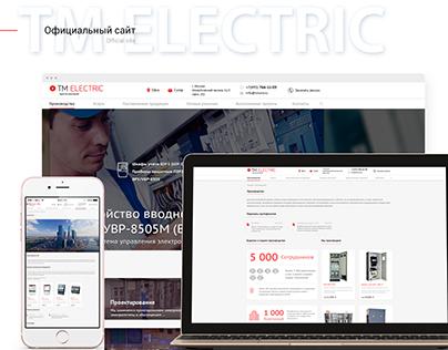 TM Electric: UI/UX and Web Design