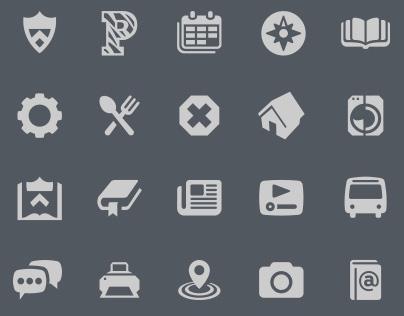 Princeton Mobile Icons