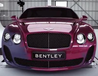 Bentley Digital Story Animation - STORY, CGI & POST