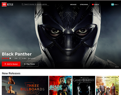 Netflix DVD Site