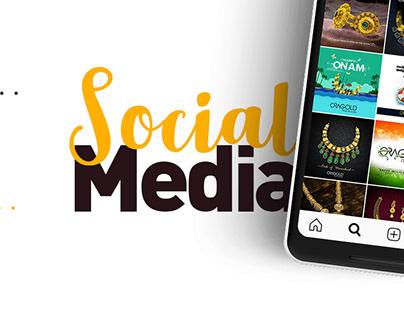 Social Media Designs for OraGold