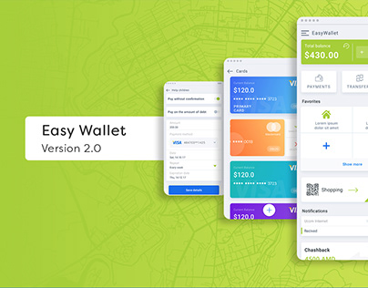 EASY WALLET APP ANDROID VERSION 2.0