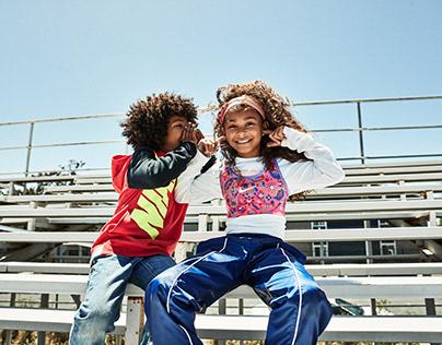 Ture Lillegraven for Nike Kids F19 Campaign