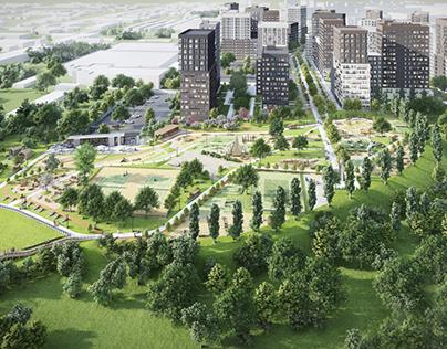 Residential complex «Taiginsky Park»in Novosibirsk