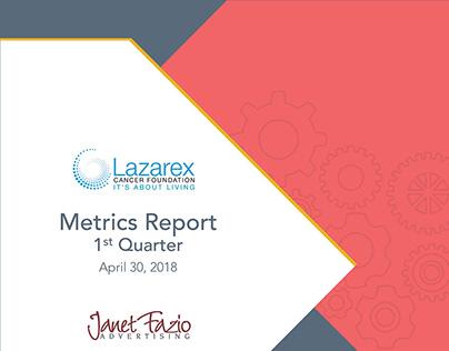 Lazarex Cancer Foundation Metrics Report