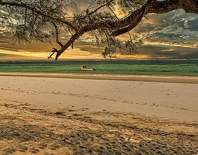 Beach at Diani Kenya