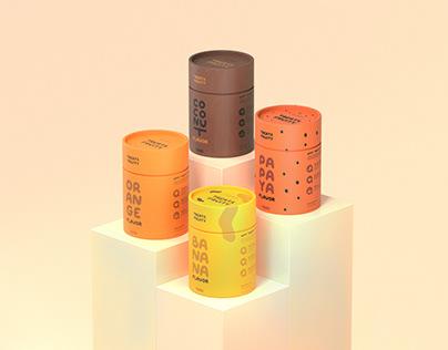 TREATY FRUITY - Dog Snacks Branding & Packaging