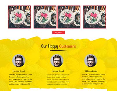 Artisan Pabiben website design and development
