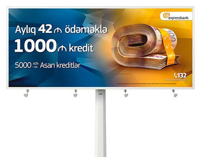 Billboard Design Advertising for Expressbank