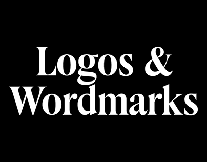 Older and newish logos and wordmarks, 2013 to 2016.