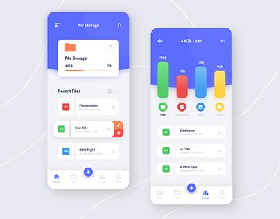 Cloud Storage - Mobile App