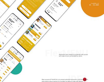 Web App   FlexMENU