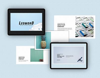 Free Leomord Presentation Template