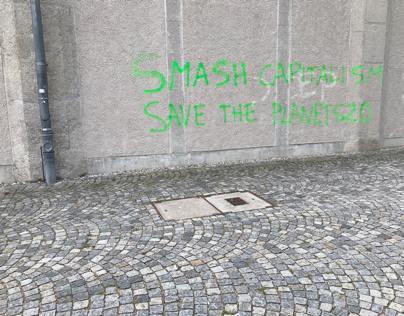 Smash the planet, save capitalism - or else.