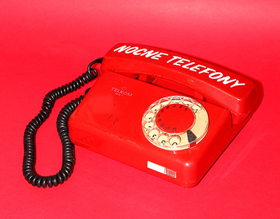 Who's calling? - signwriting on garbage phones