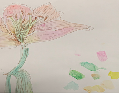 Water colour classwork 1 (2017)