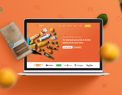 Stock Up Landing Page