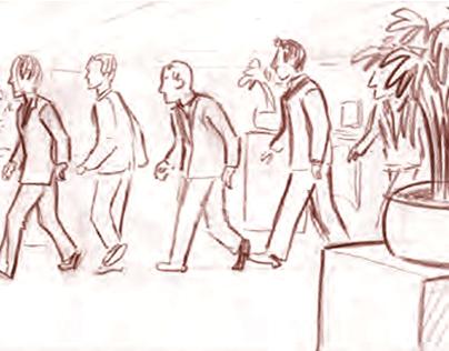 IHG - Back to the Future Storyboard