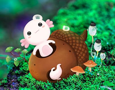 Axololt is Cute