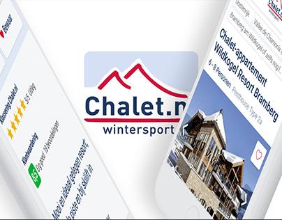 UX improvements Chalet.nl