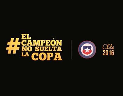 #ElCampeónNoSueltaLaCopa