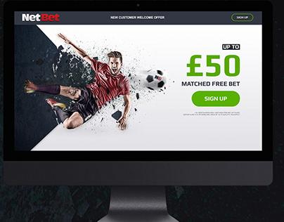 NetBet LP UK Welcome Offer