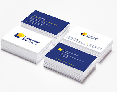 Logo and corporate identity for Language Partners