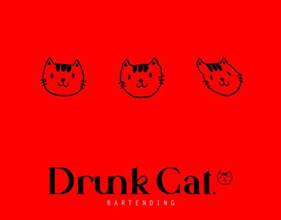 Drunk Cat - Bartending