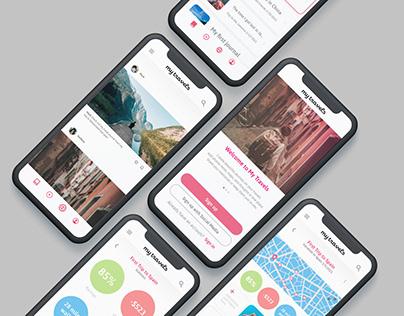 MyTravels App – UX/UI Design