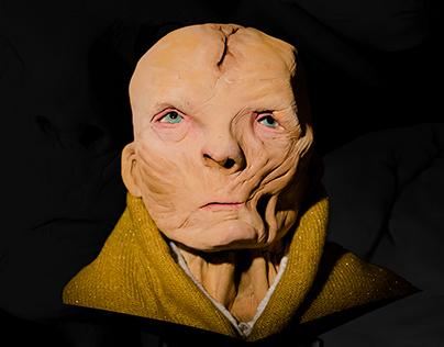 Supreme Leader Snoke Clay Figure