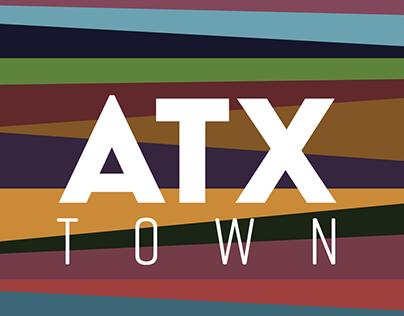 ATX Town logo design