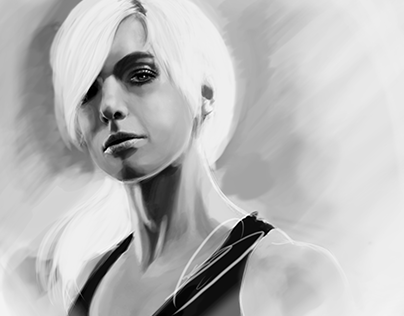 Women 01 - Digital paint portrait