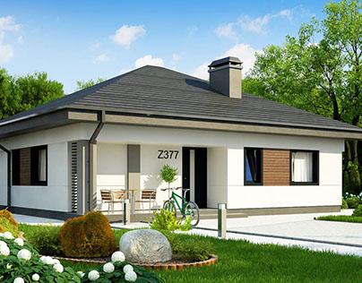 Z377 - gotowy projekt domu