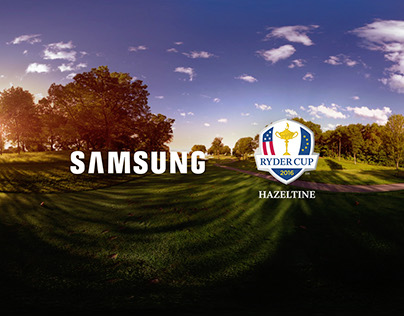 Samsung Ryder Cup VR Golf Experience