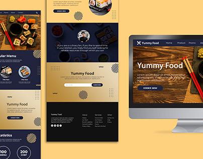 Yummy Food Web Layout