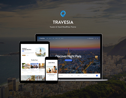 Travesia | Travel Agency WordPress Theme