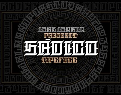 SÁDICO - TYPEFACE
