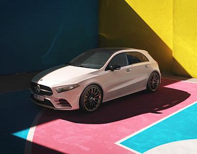 Mercedes A-Class | Full CGI