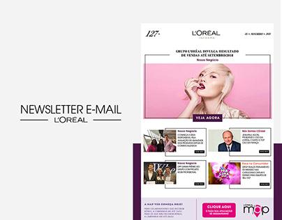 Professional Projects   Newsletter - L'Oréal Brasil