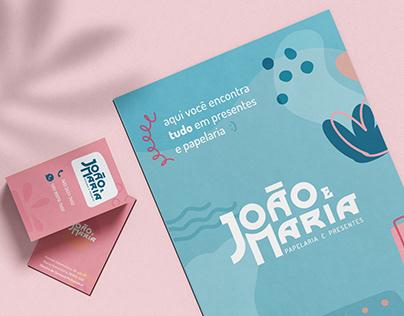 João e Maria   branding