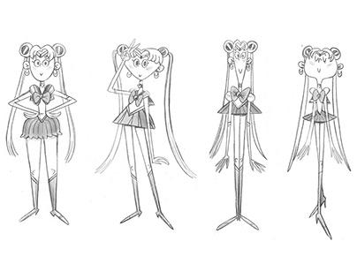 Sailor Moon character design