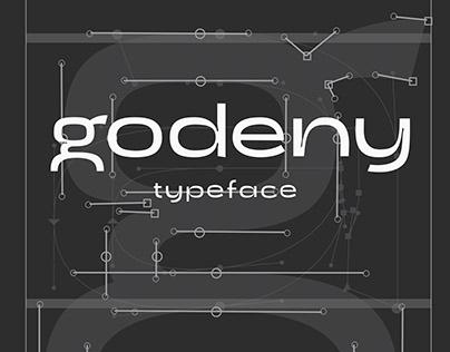 Godeny typeface