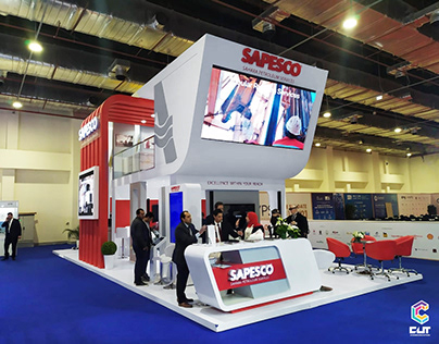 SAPESCO booth at EGYPS 2020