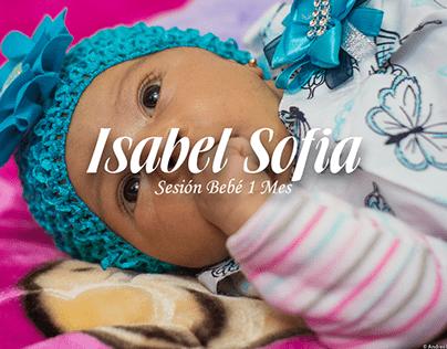 Sesión Bebé 1 Mes Isabel Sofia