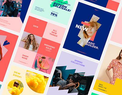 BASIC. Social Media Brand Pack Templates